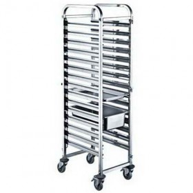 15 Layers GN1/1 Pan Stainless Steel Gastronorm Trolley TT-SP276