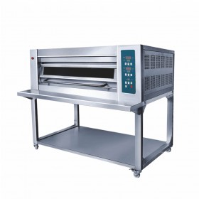 1 Deck 8Kw 400°C CE Commercial Electric Pizza Oven with Self TT-O124A