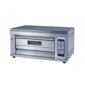 1 Deck  2 Trays Front S/S 350°C CE Commercial Electric Baking Oven TT-O39A